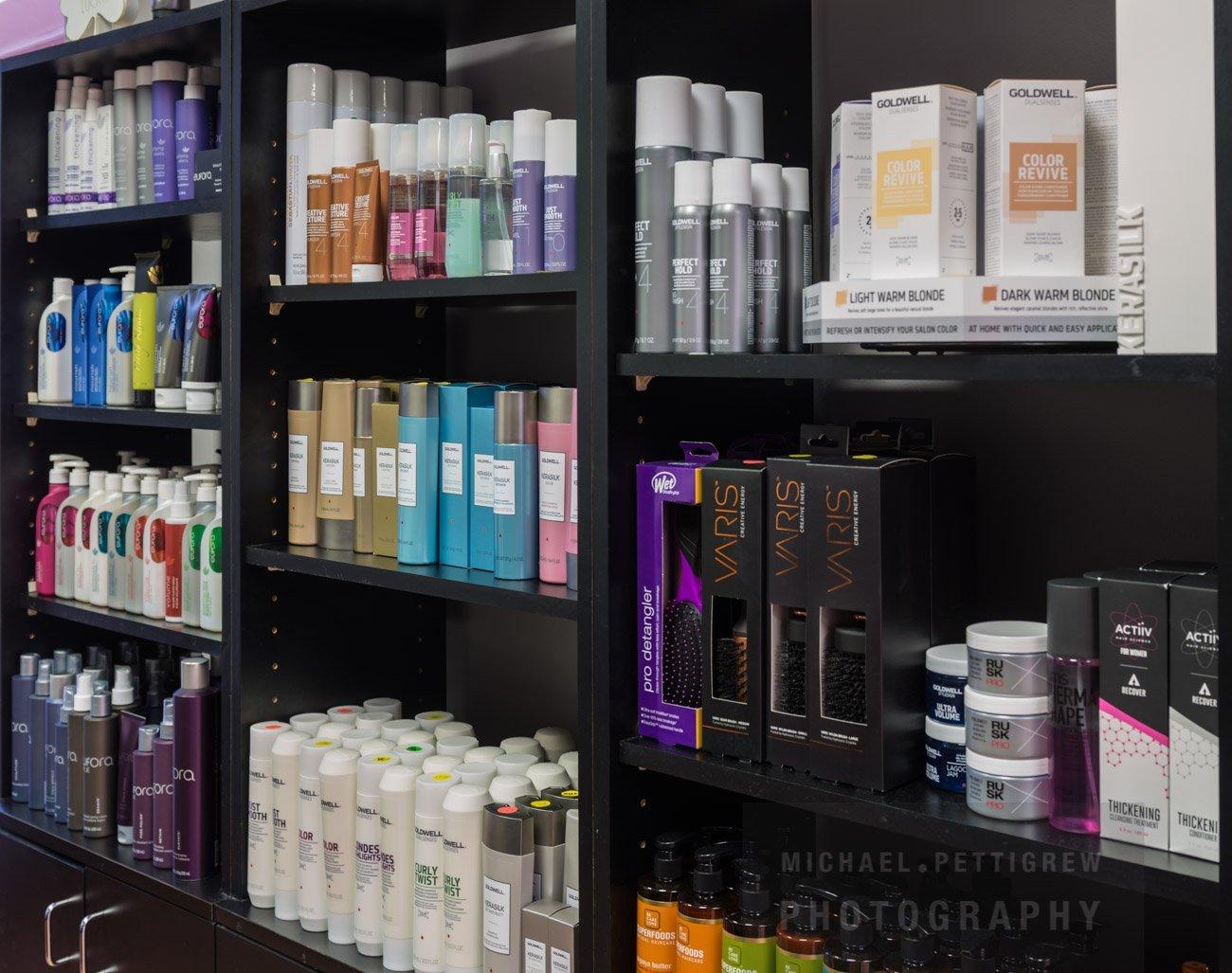 Hair Salon photography products in Falls Church, VA