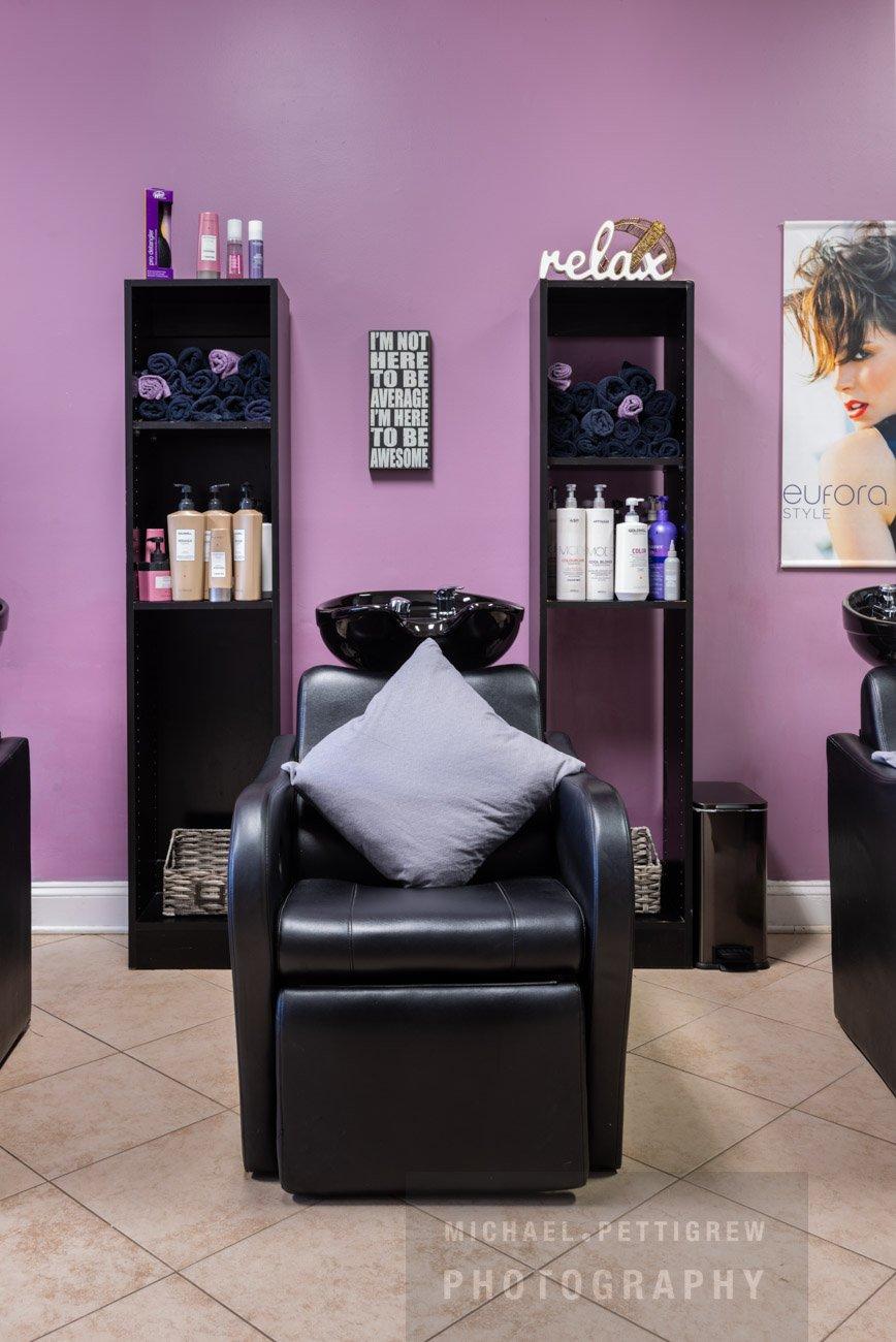 Hair Salon photography in Falls Church, VA