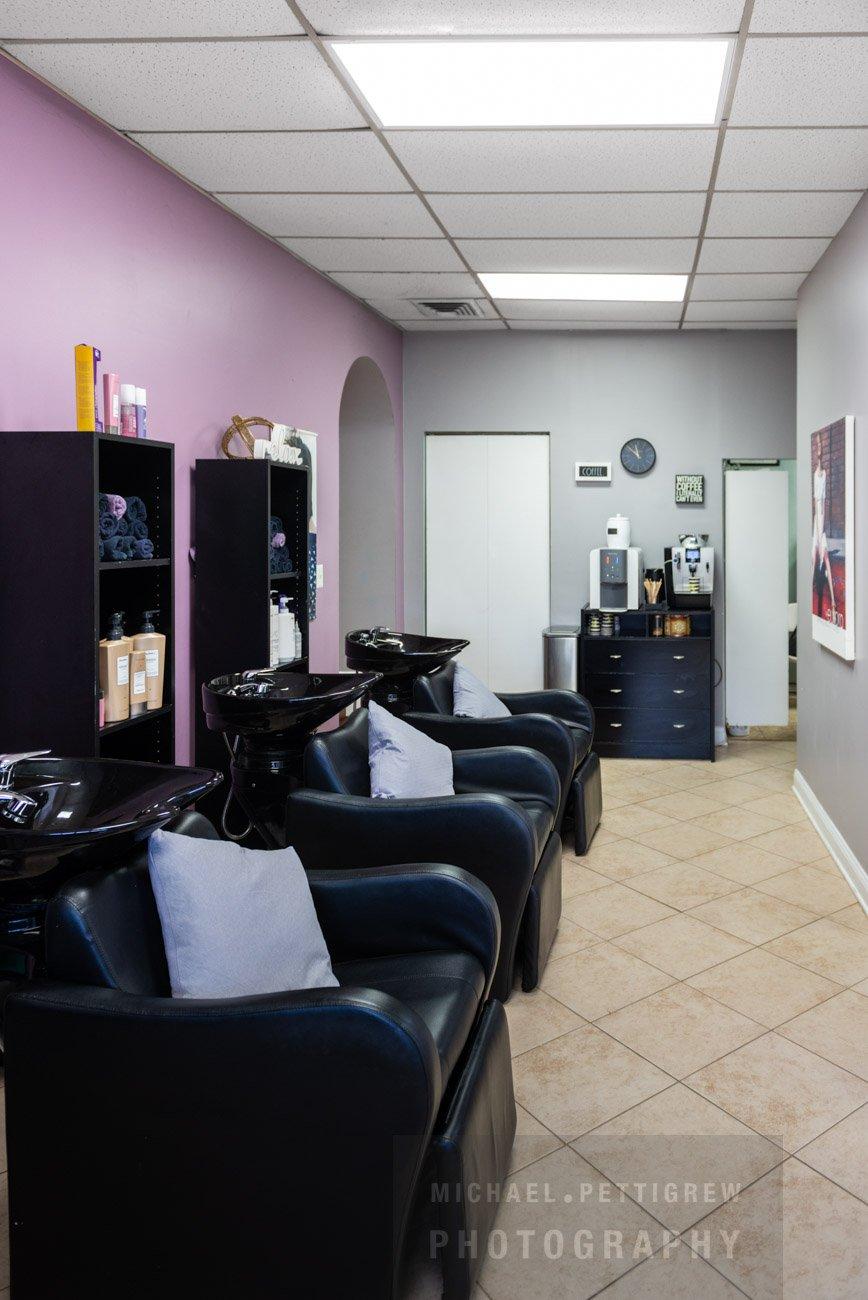 Hair Salon photography spa in Falls Church, VA