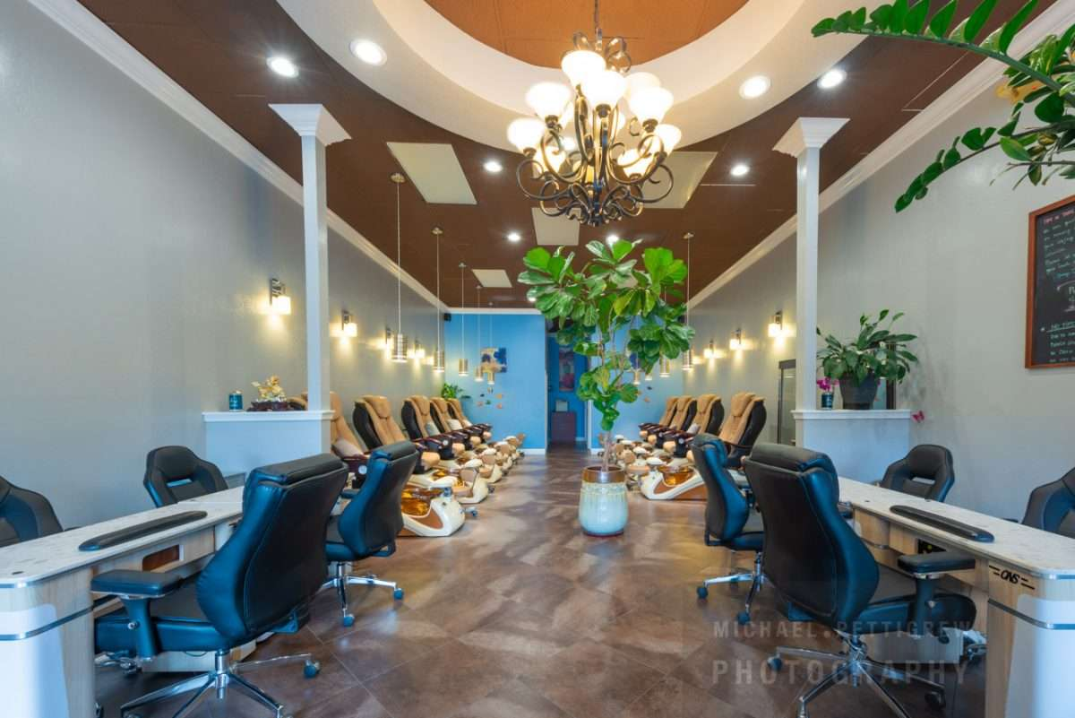 Spa business interior photography services