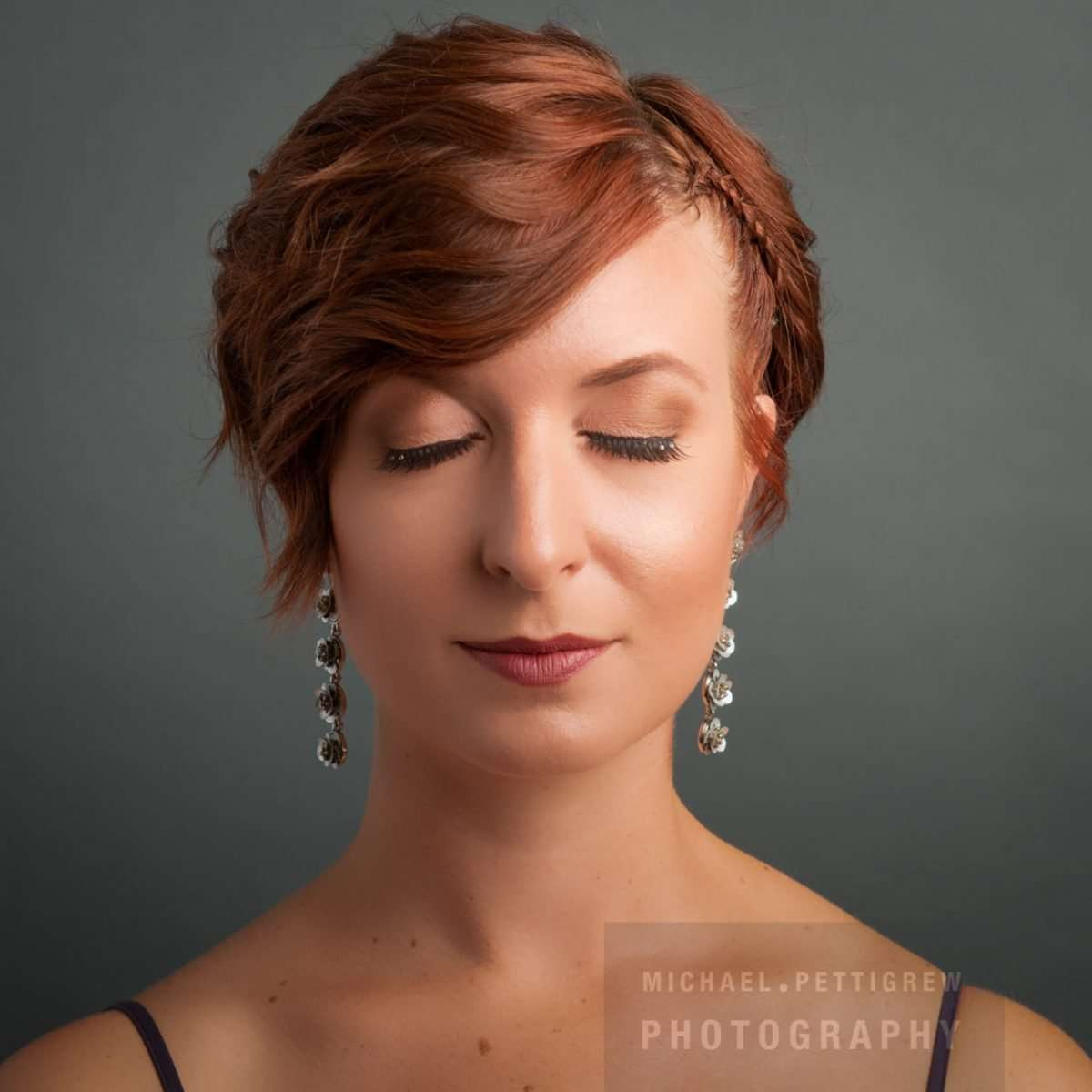 hair salon professional photography of woman's hair and makeup